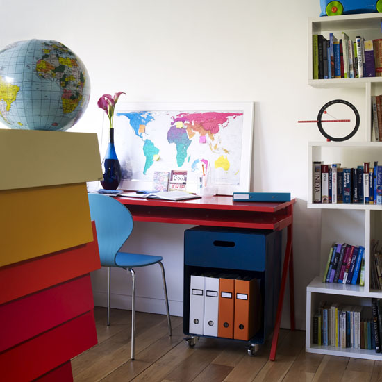 Colourful Funky Home Offices