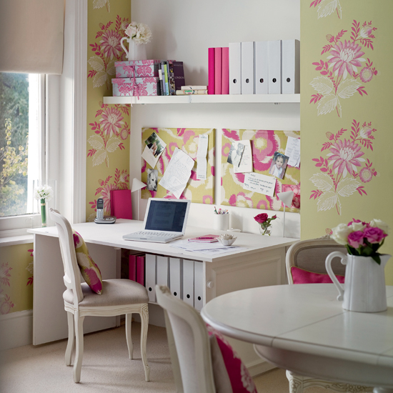 Picture from Ideal Homes Funky Home Offices