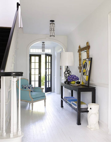 entrance hall Make an Entrance   Big Ideas for a Small Space