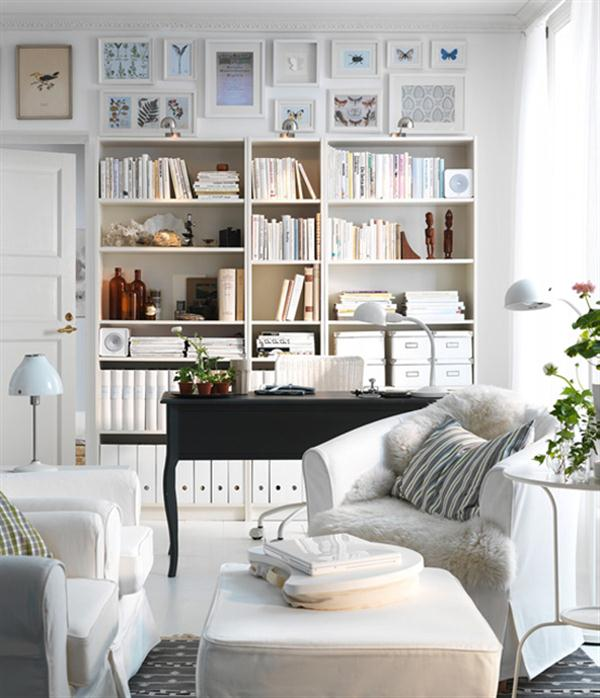 Great IKEA Home Office Living Room Ideas 600 x 698 · 59 kB · jpeg