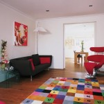 96 000011695 a086 orh550w550 Colourful rug living room 25 Beautiful Homes 150x150 Make an Entrance   Big Ideas for a Small Space