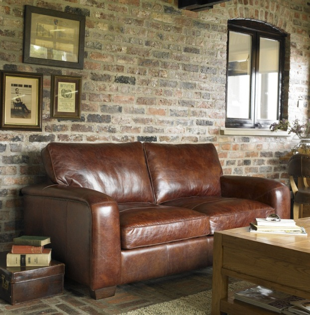 The charm of the Leather Sofa – What you need to know about leather ...