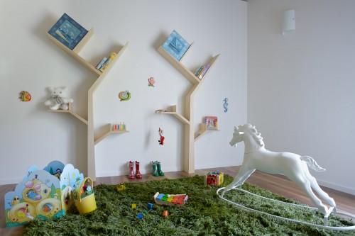 Booktree Bookshelf in Nursery
