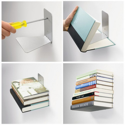 Conceal Book Shelf 500x500 15 Creative Bookshelves For Your Home