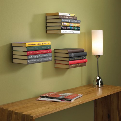 Conceal Book Shelf by Umbra 500x500 15 Creative Bookshelves For Your Home