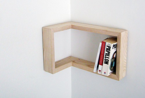 Kulma Framing Shelf 500x338 15 Creative Bookshelves For Your Home