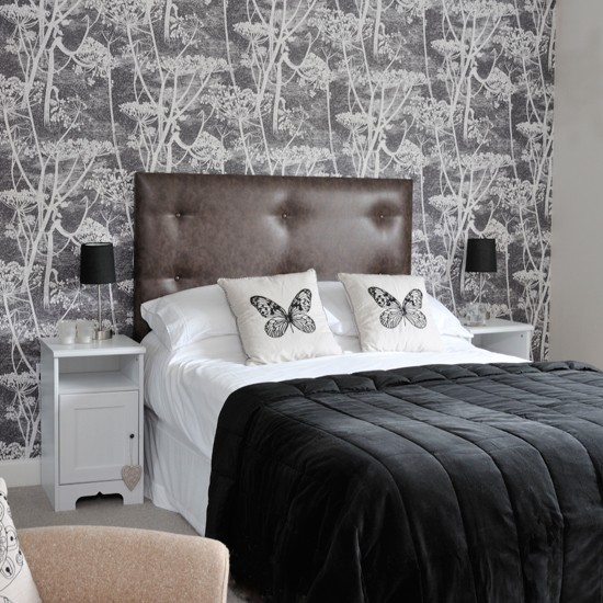Monochrome Bedroom Style at Home Housetohome How to Decorate a Black and White Bedroom
