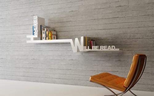 Has Been Read / Will Be Read Bookshelf