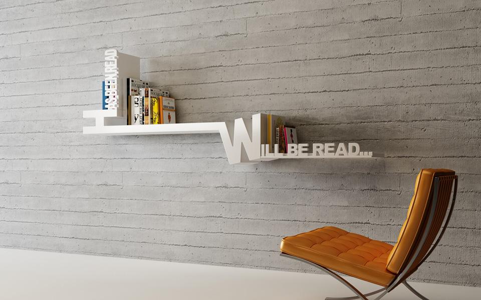 Creative Book Rack Design : Creative bookshelves for your home emerald interiors
