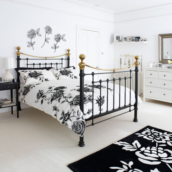 bedroom designs How to Decorate a Black and White Bedroom