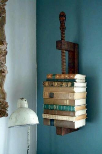 Re-Purposed book shelf