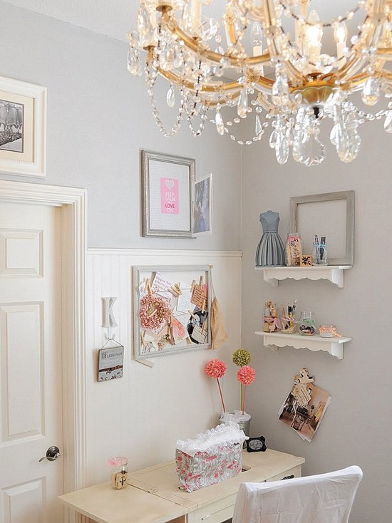 shabby chic home office emerald interiors blog