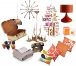 emerald interior design autumn tones mood board