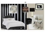 Emerald Interior Design black bedroom mood board