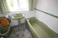 Those of us of a certain age still have nightmares over the Avocado Bathroom suite!