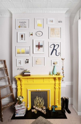 FIREPLACE 600x915 1 327x500 How To Create A Photo Gallery Wall