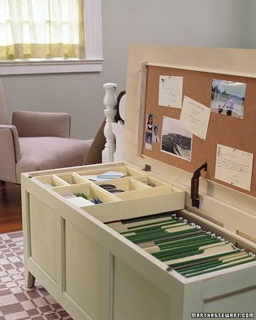 linen box storage