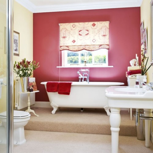 Hot Pink Feature Wall