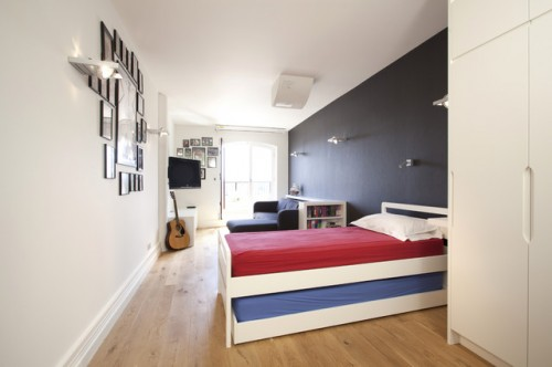 Contemporary boys room