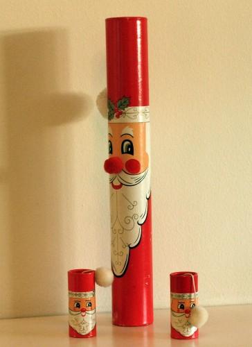 Santa Claus match sticks