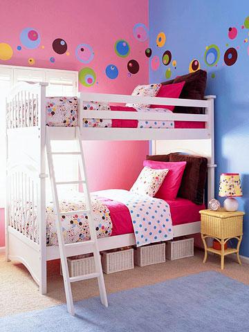 Inspirational boy girl bunk beds