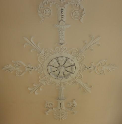plaster ceiling detail on King's Inn