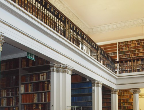 King's Inn Library_emerald interior design