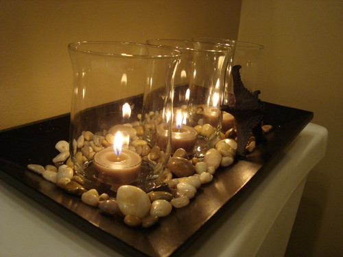 Candles aren t just for birthdays emerald interiors blog for Bathroom decor with candles
