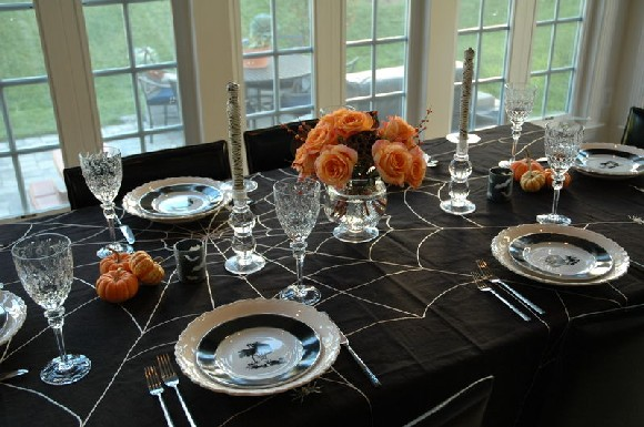 no table - Halloween Place Settings