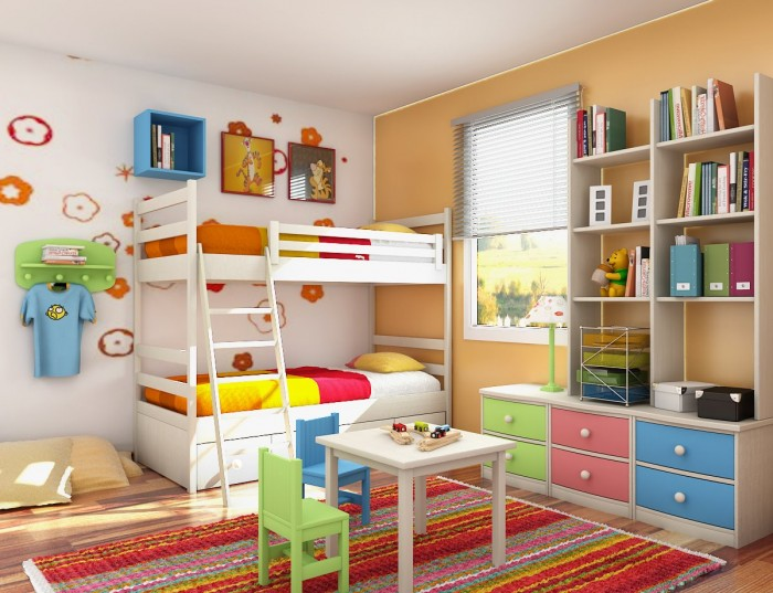 Boy Bedroom Storage: 18 Shared Bedroom Idea's For Kids