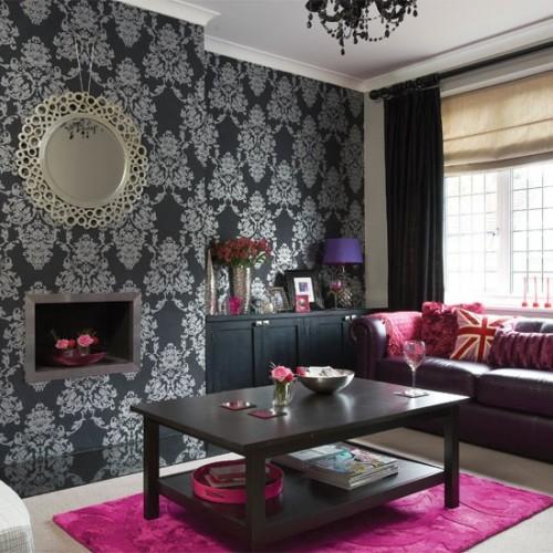 Pink Living Room Ideas: Emerald Interiors Blog