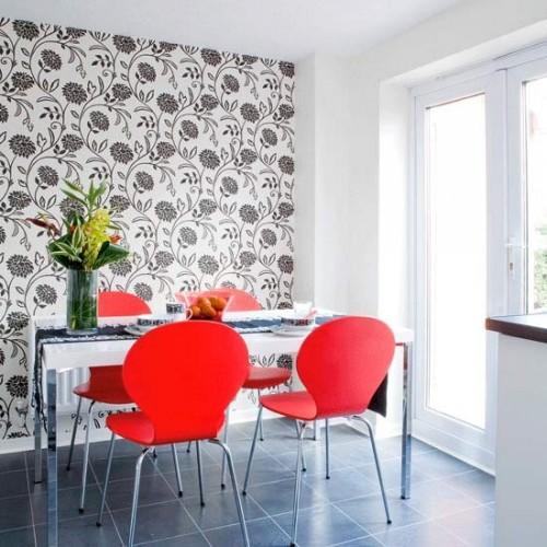 Kitchen Feature Wallpaper: How Can I Brighten Our Dark Kitchen?