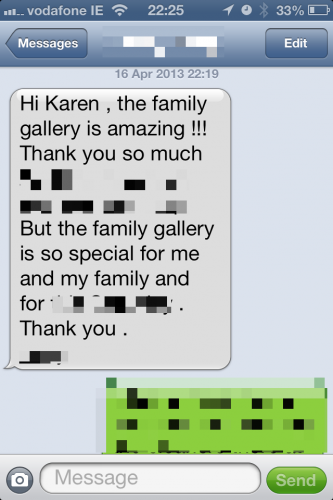 Gallery Wall text