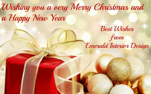 Happy Christmas from Emerald Interior Design