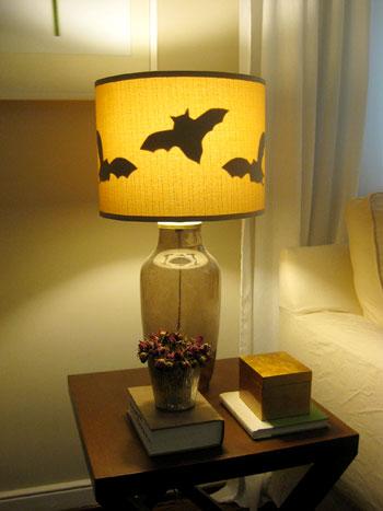 Halloween Bat Lampshade