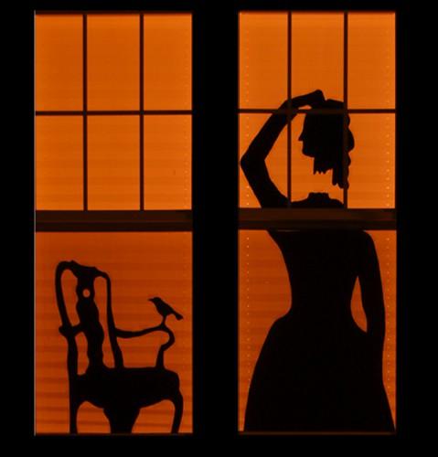 Headless Lady Silhouette