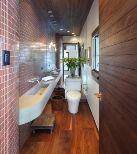 Eduardo Over At The Designer Pad Transformed His Teeny Tiny Bathroom Which Amazing Results