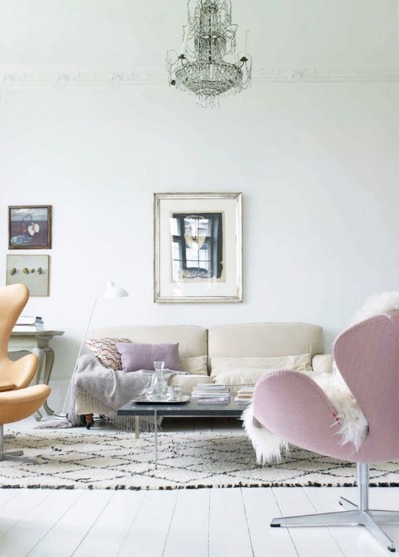 Pretty pastel interiors emerald interiors blog Apartments using pastel to create dreamy interiors
