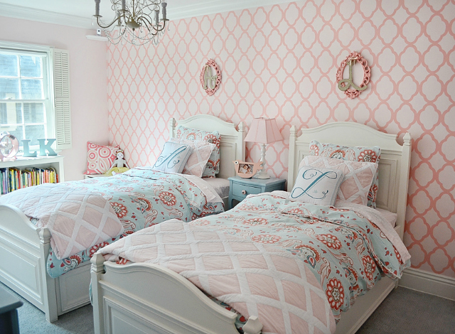 Awesome Shared Big Girl Room