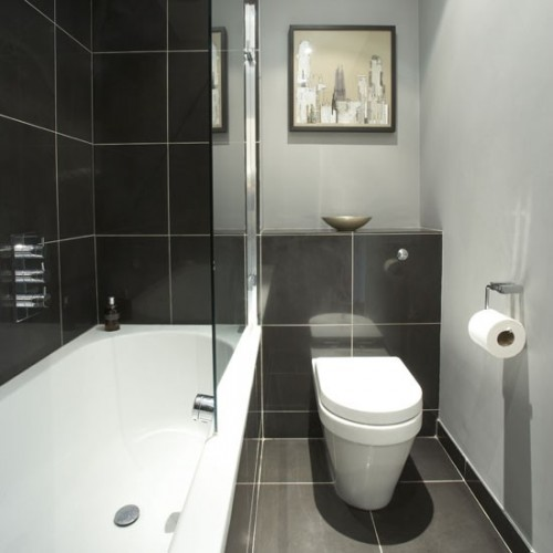 12 small but beautiful bathrooms emerald interiors blog for Very small baths for small bathrooms