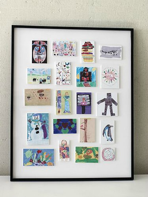 Creative Ways To Display Your Childrens Artwork