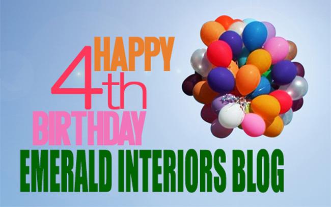 Happy Birthday Emerald Interior Design