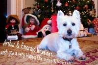 Happy Christmas from Emerald Interiors
